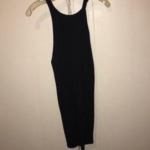 Forever 21 Mini tight black dress